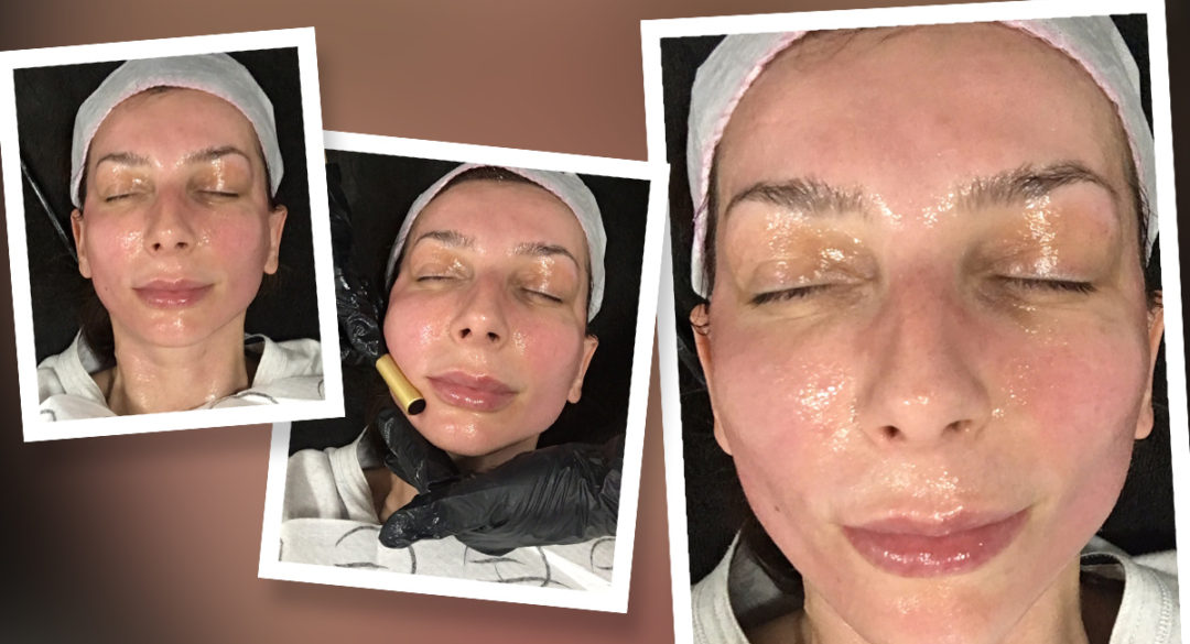 Facial Application Steps Banner