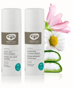 Green People Light Day Moisturiser and Hydrating Calming Serum 2