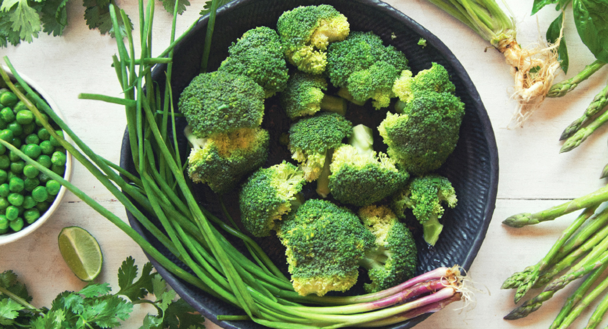 Organic Green Vegetables