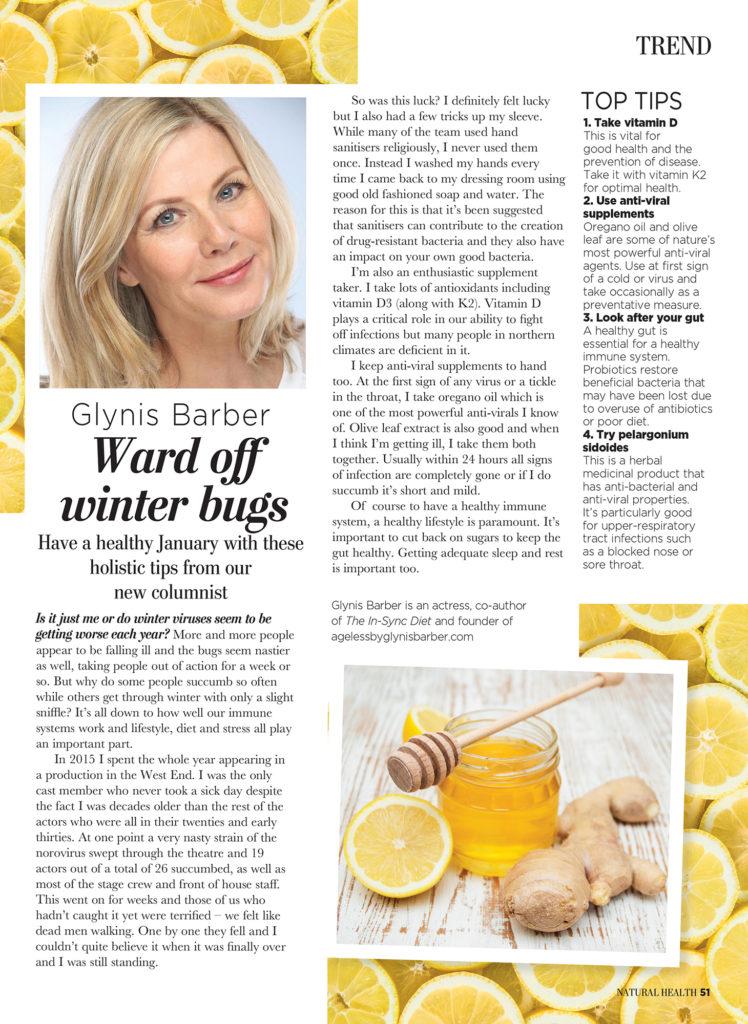 Ward Off Winter Bugs