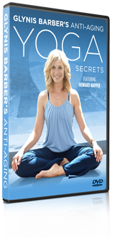 Glynis Barber's Anti-Ageing Yoga DVD Box