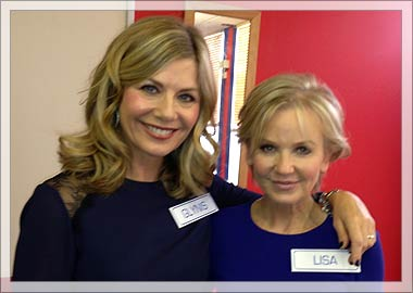 Glynis Barber and Lisa Maxwell