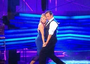 Stepping Out Week 1 - Glynis and Michael Embrace