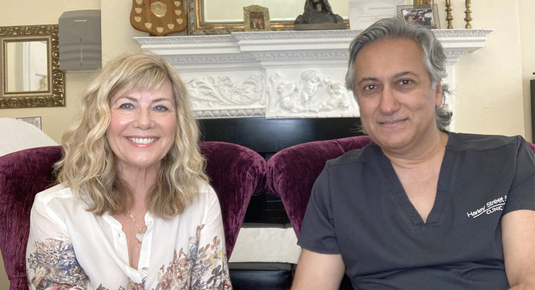 Aamer Khan with Glynis