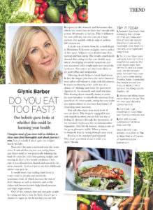 Do You Eat Too Fast? Article Preview