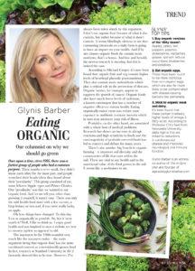 Eating Organic Article