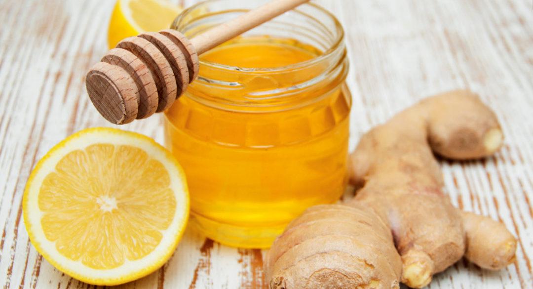 Ginger, Lemon and Honey