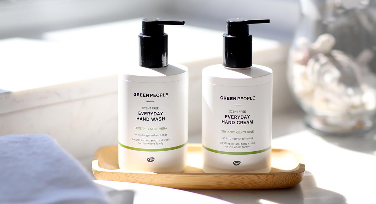 Green People Hand Wash and Hand Cream