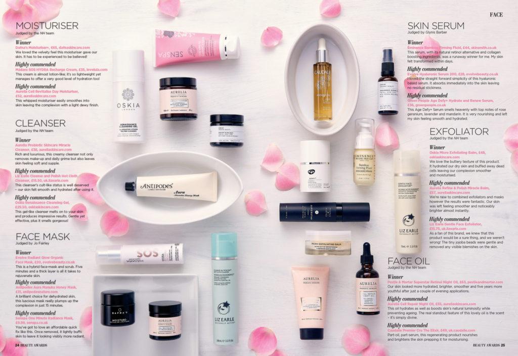 International Natural Health Beauty Awards Article
