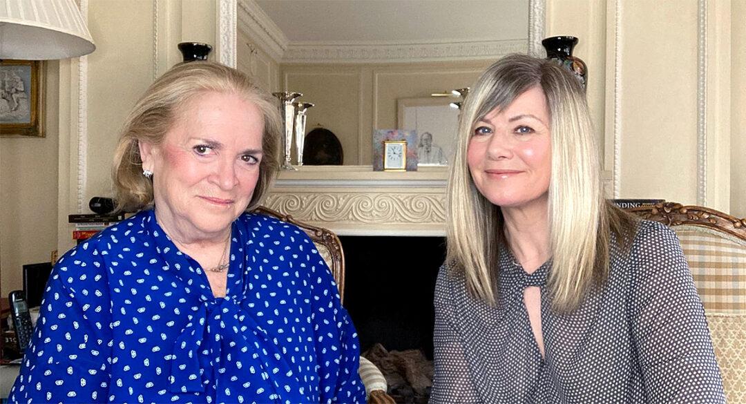 Joan Kingsley and Glynis