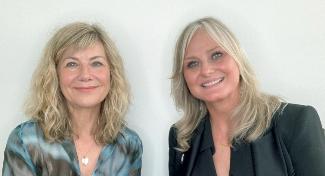 Marie Reynolds and Glynis Barber