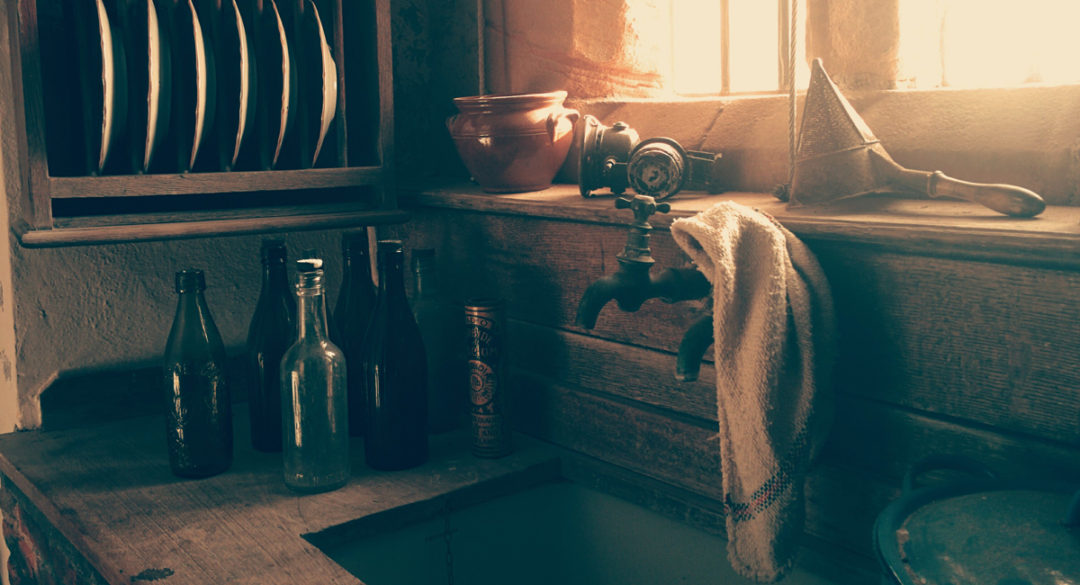 Old Tap in Old Kitchen