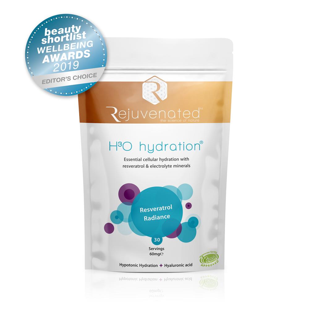 Rejuvenated H3O Hydration Badge