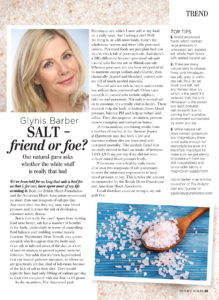 Natural Health - Salt: friend or foe?