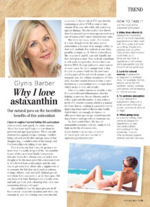 Why I love astaxantin article in Natural Health