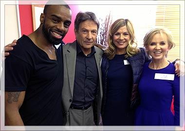 Chucky, Michael Brandon, Glynis Barber and Lisa Maxwell