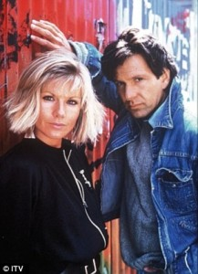 Glynis and Michael as Dempsey and Makepeace