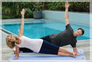 Anti Ageing Secrets Yoga with Glynis Barber and Howard Happer